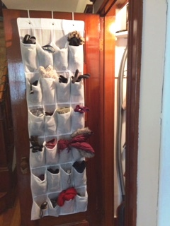 hanging shoe holder