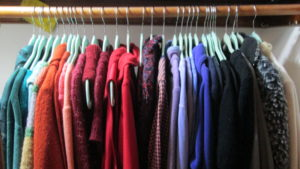 Clean out your clothes closets