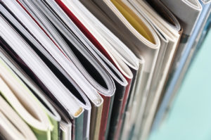 get rid of magazine clutter