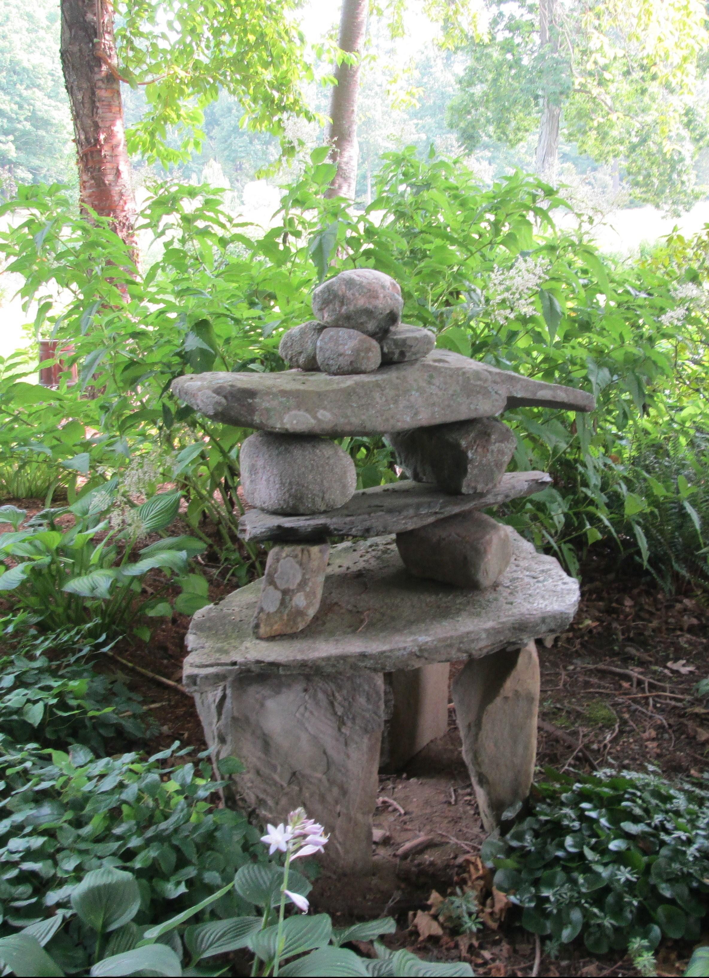 Declutter mind Meditative rocks